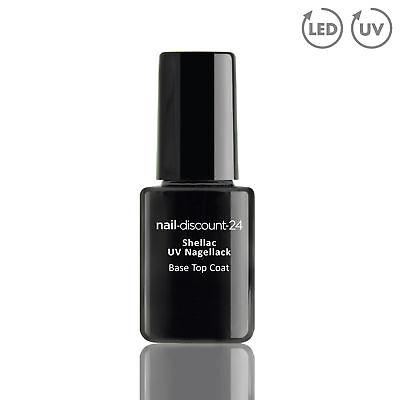 Shellac UV Nagellack BASE TOP COAT FINISH Nail Polish LED Gel Nagellack Soak Off