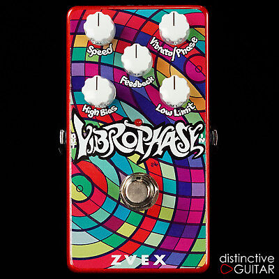 NEW ZVEX VEXTER EFFECTS VERTICAL VIBROPHASE PHASER VIBRATO ELECTRIC GUITAR PEDAL