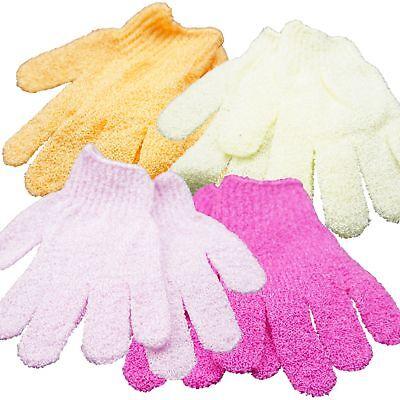 GS-Nails Massage Handschuh Duschhandschuh Peelinghandschuh Peeling 1 Paar