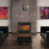 CORNER FIREPLACES: SMALL CORNER DIRECT VENT GAS FIREPLACE