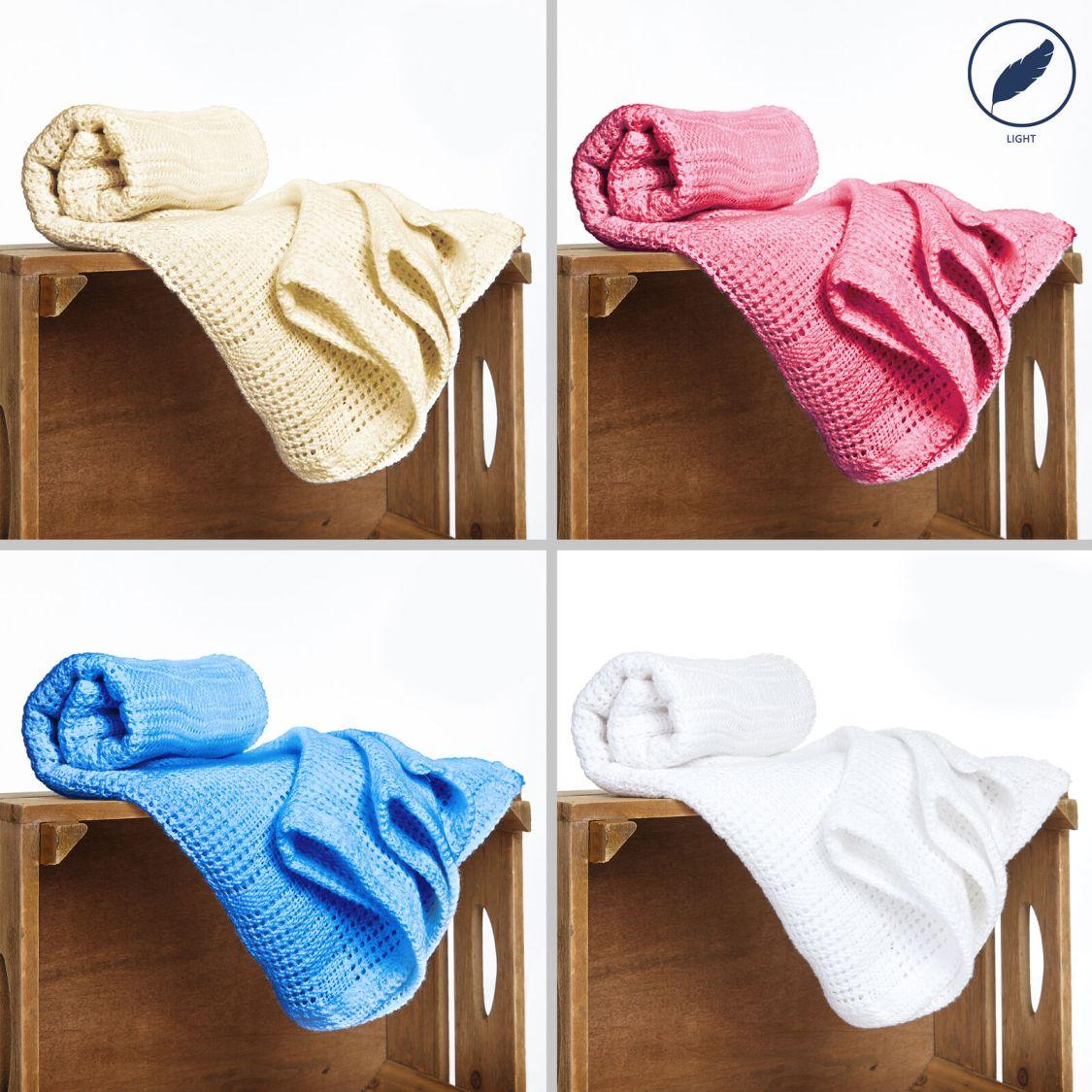 Baby Decke Baumwolldecke Erstlingsdecke Kuscheldecke 100% Baumwolle Krabbeldecke