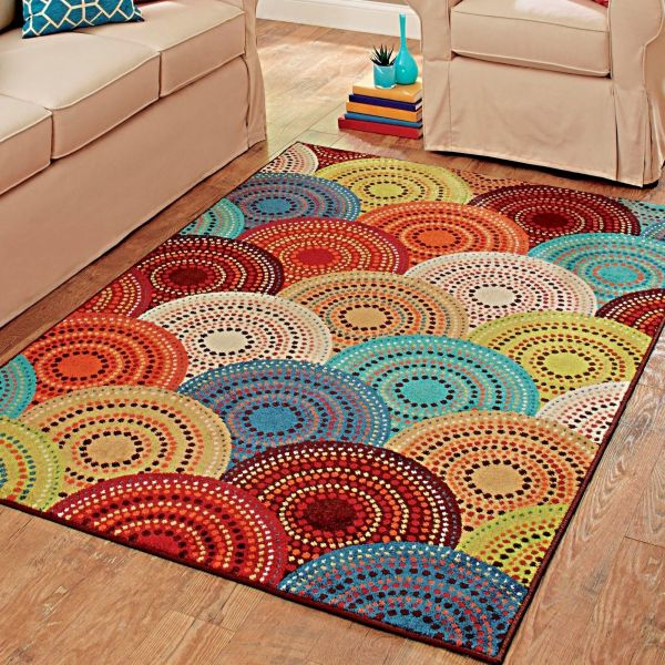 Rugs Area Carpet 8x10 Rug Floor Modern Colorful