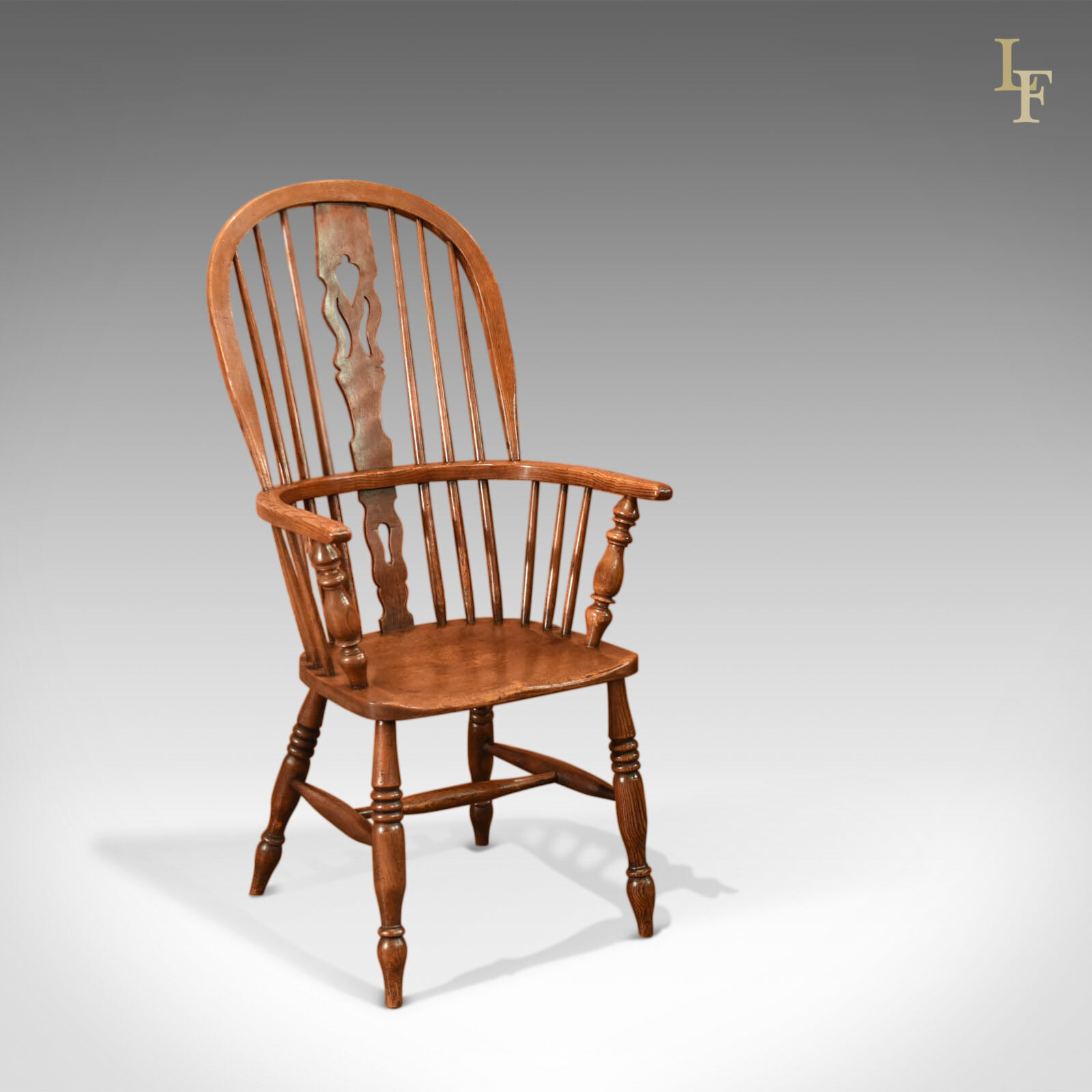 Oak Windsor Chairs Antique Windsor Chair Victorian Stick Back Armchair