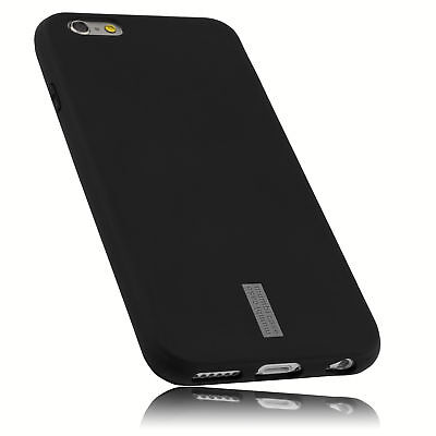 mumbi Hülle für Apple iPhone 6 6s Schutzhülle Case Tasche Cover Schwarz