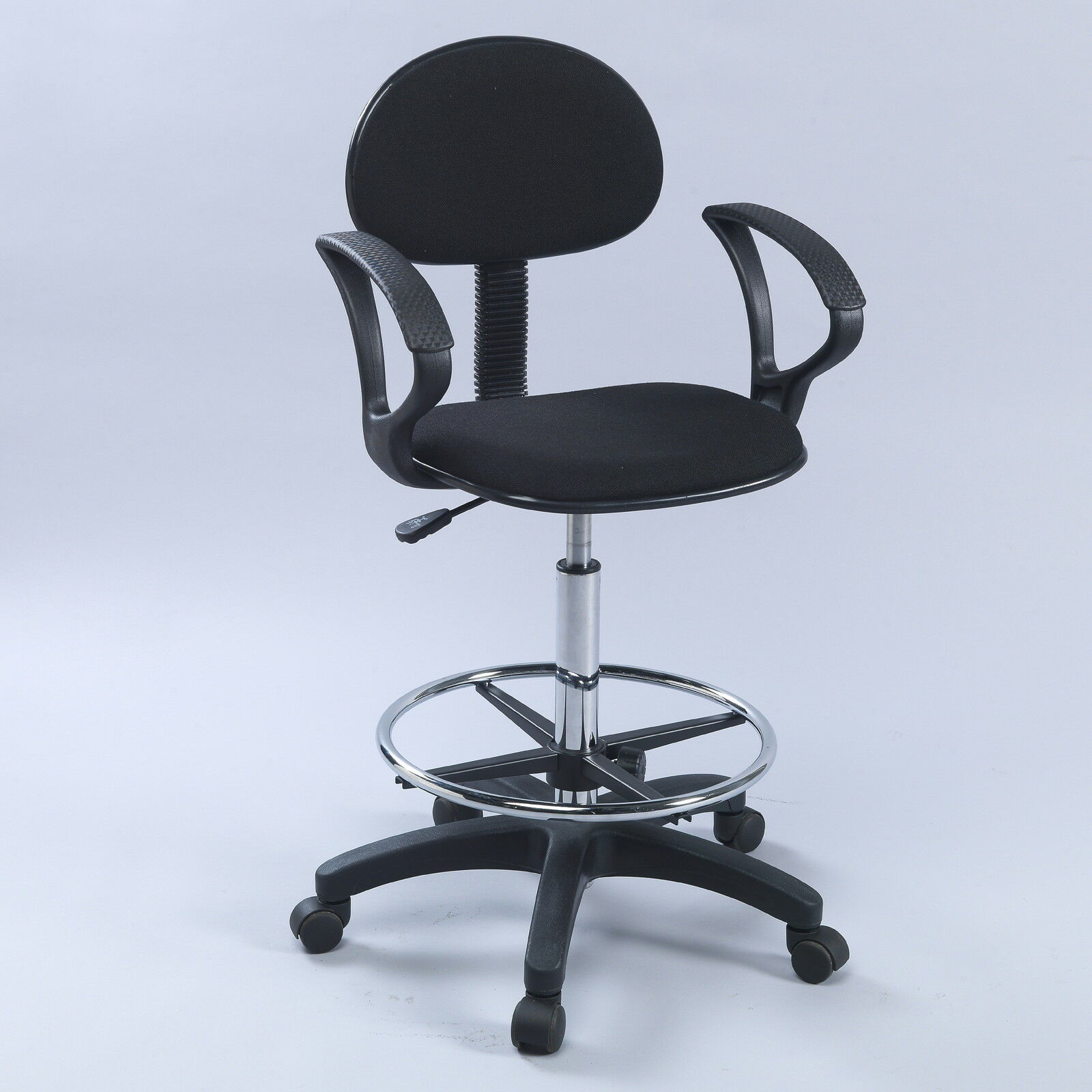 Drafting Chairs Counter Drafting Height Economy Office Chair W Arms Ebay