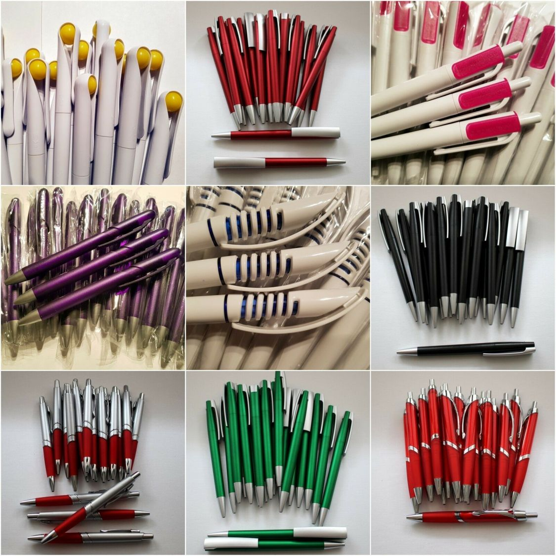 20 Kugelschreiber Kuli Stift Kulis Schreibfarbe Blau Kugelschreiber Set NEU
