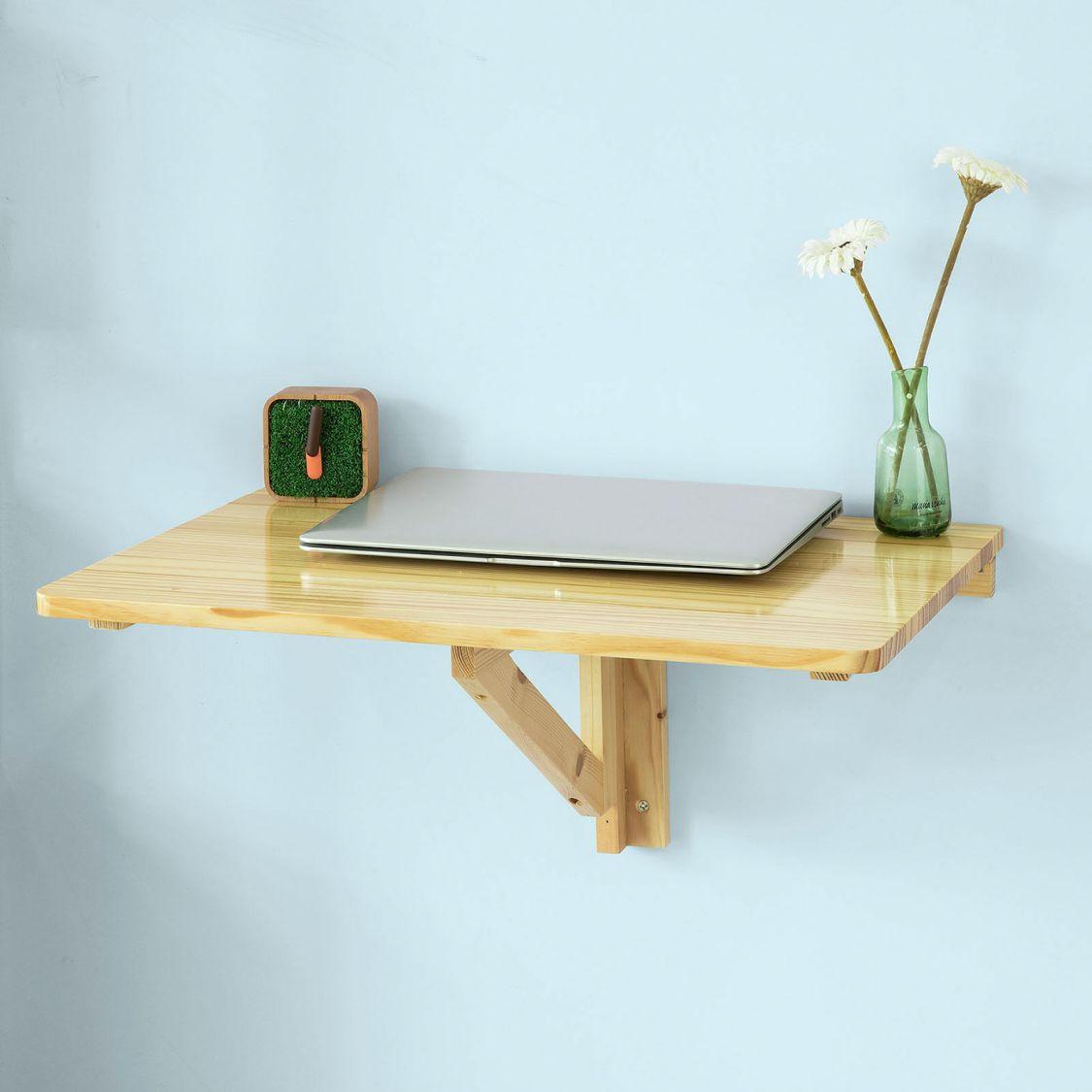 SoBuy® Wandklapptisch,Esstisch,Küchentisch,Schreibtisch,ohne Stuhl, FWT03-N