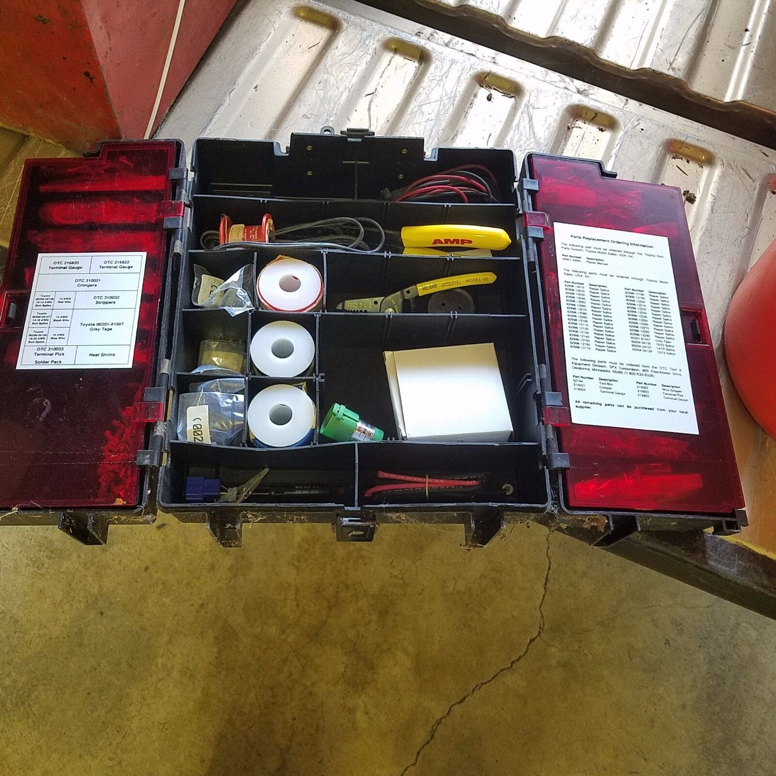 hight resolution of toyota wire harness repair kit