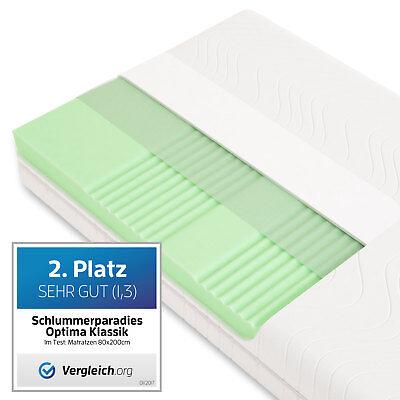 Matratze ca. 19cm 7 Zonen HR Kaltschaummatratze RG40 - Schlummerparadies günstig