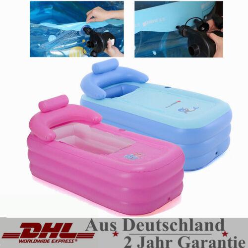 Durable SPA aufblasbare Badewanne für Erwachsene aufblasbar Reise 160*82*75cm,DE