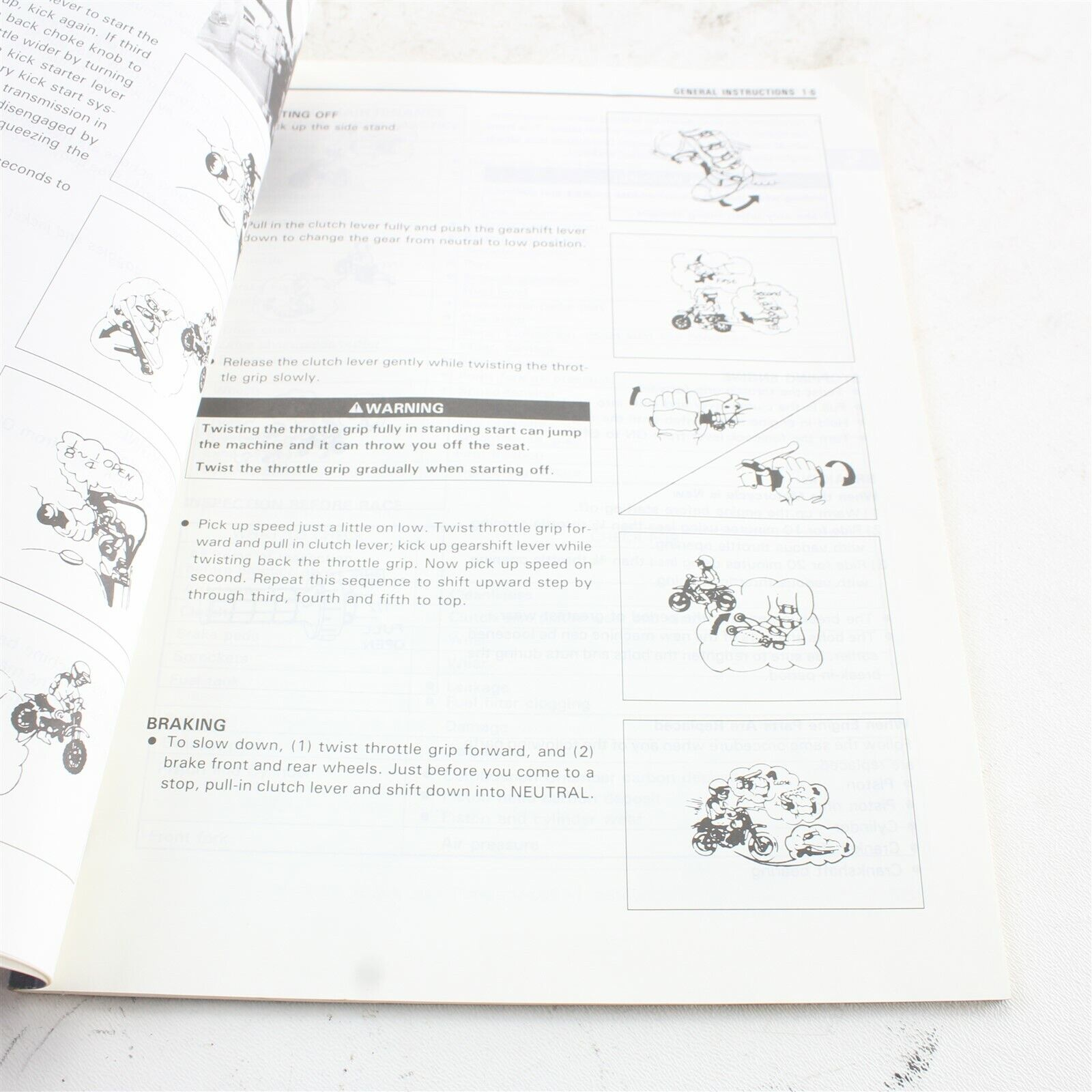 1995 Suzuki RM80 Owners Service Information Manual Booklet