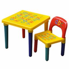 Ikea Childrens Plastic Table And Chairs Hanging Chair Bolt Childs | Ebay