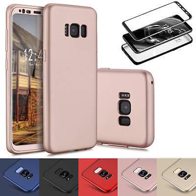 Handyhülle Samsung Galaxy iPhone Full Cover Schutzhülle Slim Case Silikon Bumper