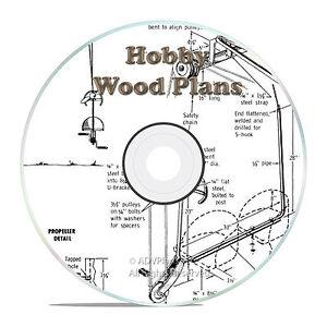 Go Kart Scooter Race Car ATV Wood Hobby Plans Classic