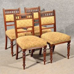 4 Kitchen Chairs Formica Table And Antique Dining Or X Comfy Sprung Seats