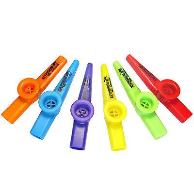 KEEPDRUM Kazoo aus Kunststoff Musikspielzeug verschiedene Farben Tröte