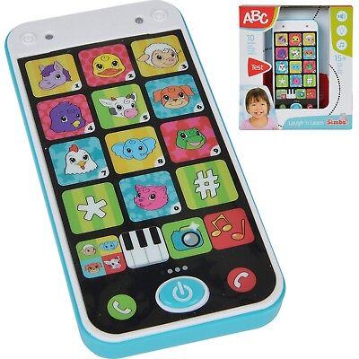 Kinder Handy Smartphone Spielzeughandy Smart Phone Spielzeug Licht Sound Simba