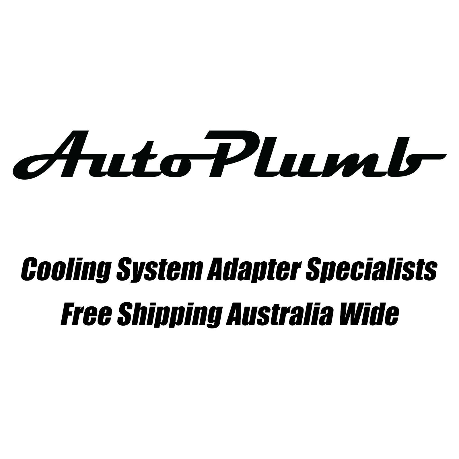 Autoplumb 20an Ls Chev Straight Silver Thermostat Housing
