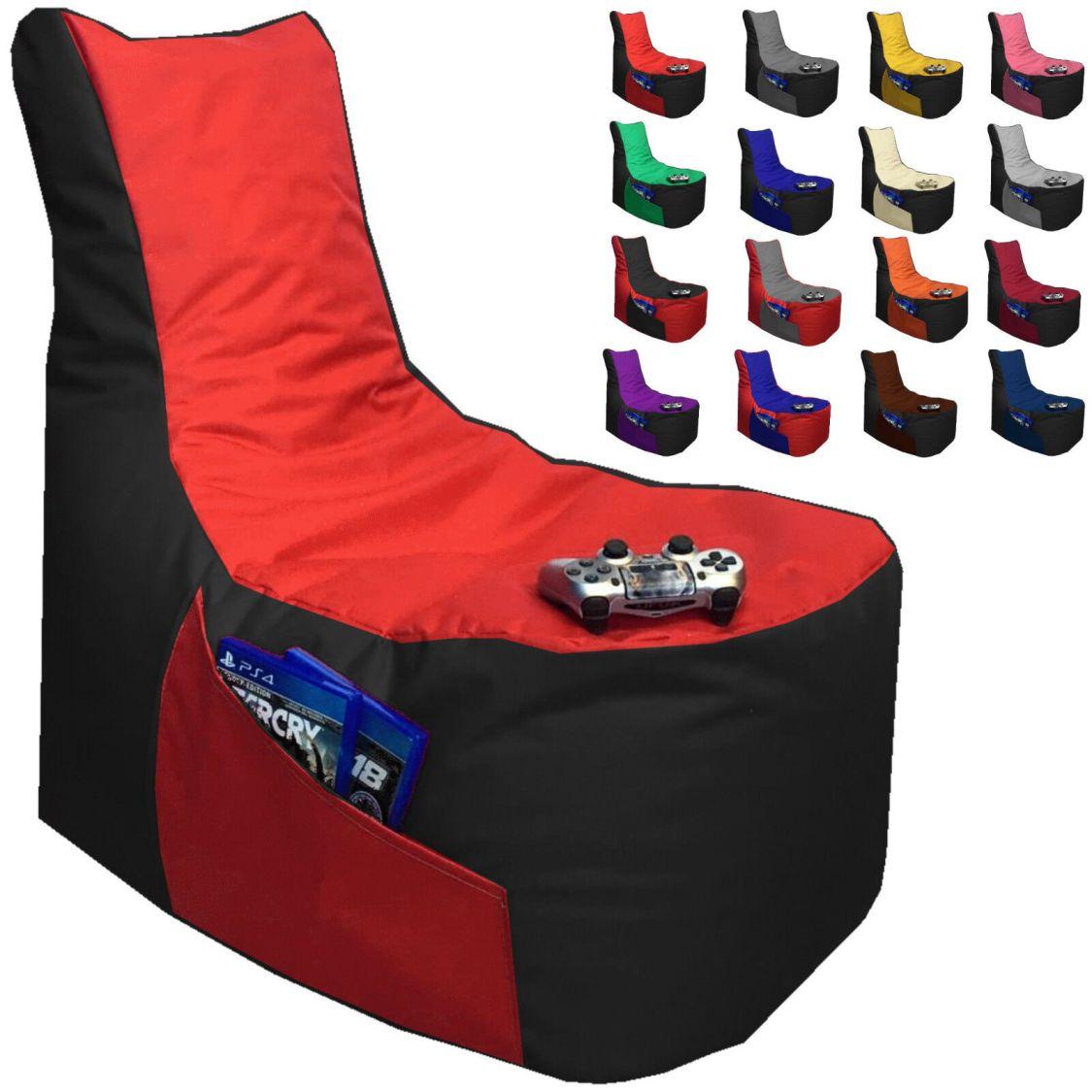 Sitzsack BIG GAMER Stuhl XXL mit Füllung Sitzbag Sessel Boden Kissen Säcke Sofa