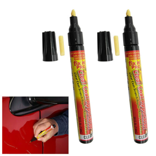 2 Pcs Fix It Pro Car Vehicle Scratch Repair Remover Pen