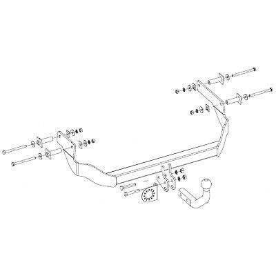 Vehicle Parts & Accessories Tow Bars Citroen Nemo Towbar