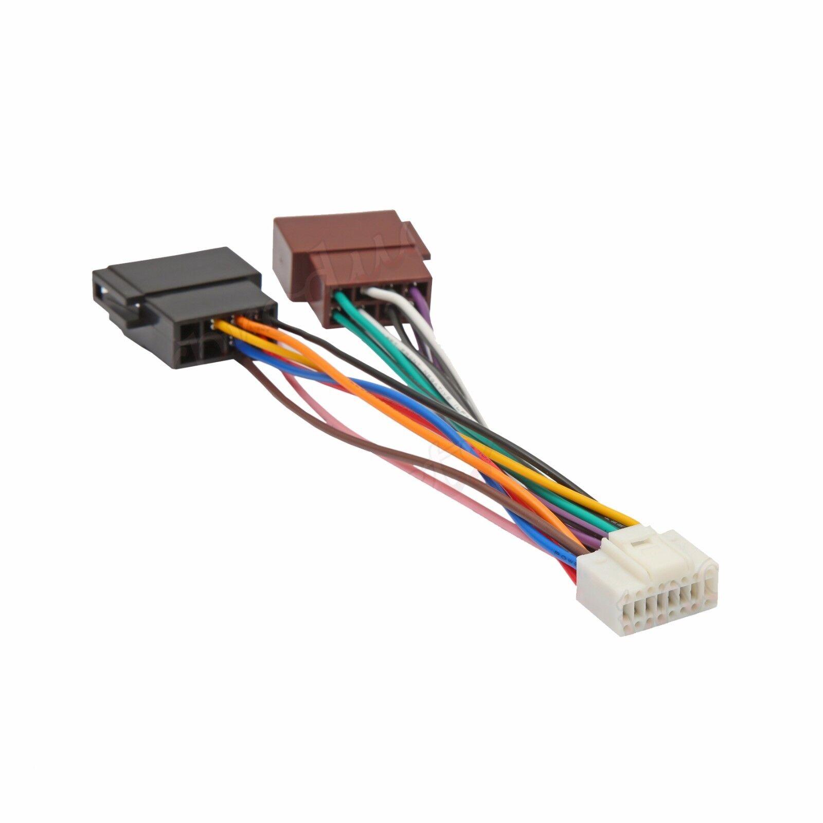 alpine 16 pin iso wiring harness connector adaptor car stereo radio loom [ 1600 x 1600 Pixel ]