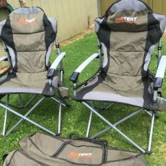 Oztent King Kokoda Chair Review Tin Rail Chairs Gecko Latch C Ing
