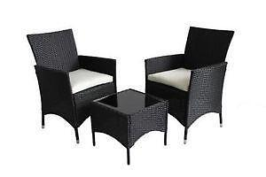 rattan garden chairs only uk eames shell chair furniture patio outdoor ebay black
