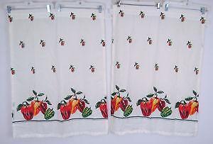 kitchen swags cabinets accessories manufacturer curtains ebay vintage