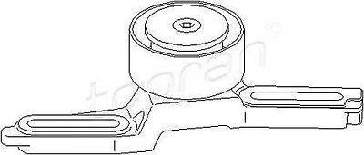 Peugeot 307 Auxiliary-Drive-Belt-Tensioner-Pulley