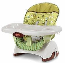 fisher price spacesaver high chair cover dwr salt ebay space saver chairs