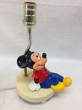 Vintage Mickey Mouse Lamp | eBay