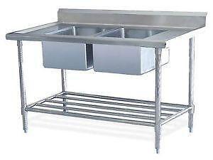 ss kitchen sinks how to refurbish cabinets stainless steel sink ebay commercial