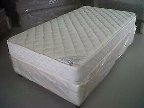 Used Double Bed Base And Mattress For Free Local Delivery