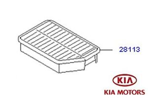 Genuine Kia Sportage 2010-2013 Replacement Air Filter
