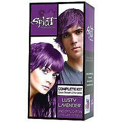purple hair dye permanent