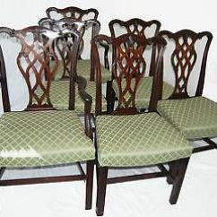 Antique Dining Chairs Value Green Parsons Chair Ebay Mahogany