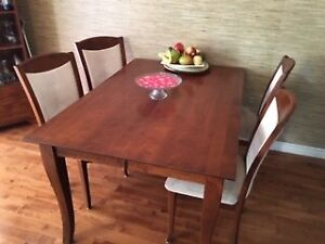 wooden kitchen tables rustic cabinets for sale table and chairs buy sell furniture in halifax hard wood