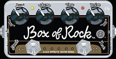 NEW Z Vex Vexter Series Box of Rock.REAL ZVEX DEALER