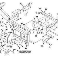Western Snow Plow Wiring Diagram Ford Whirlpool Ultimate Care Ii Parts Meyer Mount: Plows & | Ebay