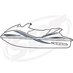 Yamaha Graphic Kit Decals 2002 2005 FX140 FX HO Cruiser