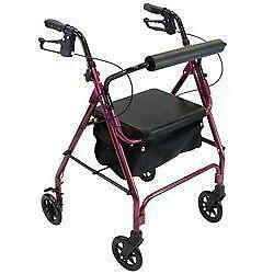 walker roller chair wheels for kitchen chairs ebay with