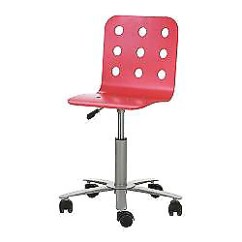 Ikea Jules Chair Beach Embroidery Design Kijiji In Ontario Buy Sell Save With Swivel Desk Red 20