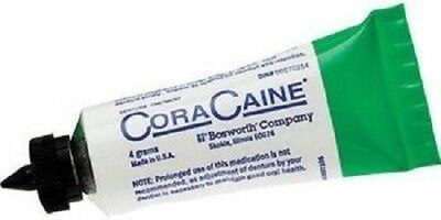 Cora-Caine Denture Analgesic Adhesive Ointment (7 x 0.14oz Tubes) by BOSWORTH