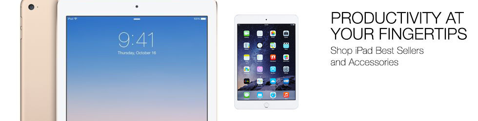 Productivity at your fingertips | Shop iPad Best Sellers and Accessories