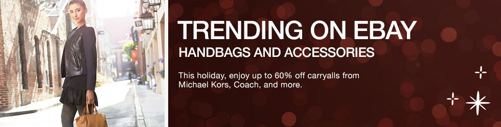 Trending on eBay | Handbags and Accessories | Shop now