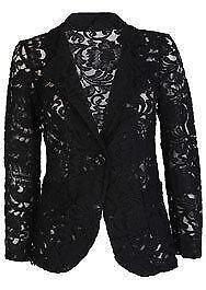 Lace Blazer Coats  Jackets  eBay