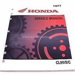 1967 Honda Ct90 Wiring Diagram 1998 Dodge Dakota Radio Trail 90 Manual Ebay New Service C90 Cl90 S90 Oem Shop Repair Book L28