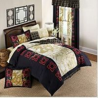 Oriental Asian Dragon Queen Size 8PC Comforter Sheet Bed ...