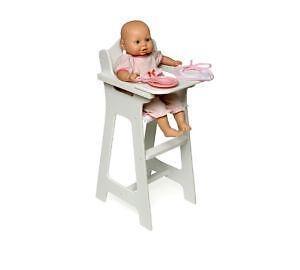 retro high chairs babies used power wheel vintage chair ebay doll